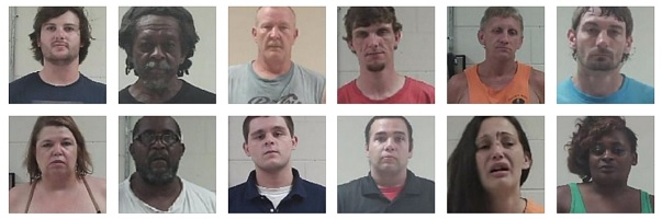 felony DUI, aggravated assault and other arrests in Neshoba County