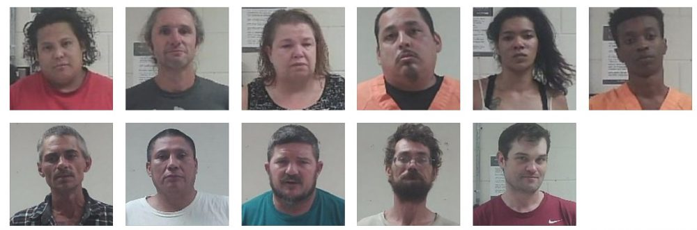 possession, assault and other arrests in Neshoba County