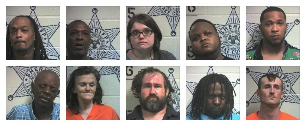 drugs, DUI and other arrests in Leake County - Kicks96news