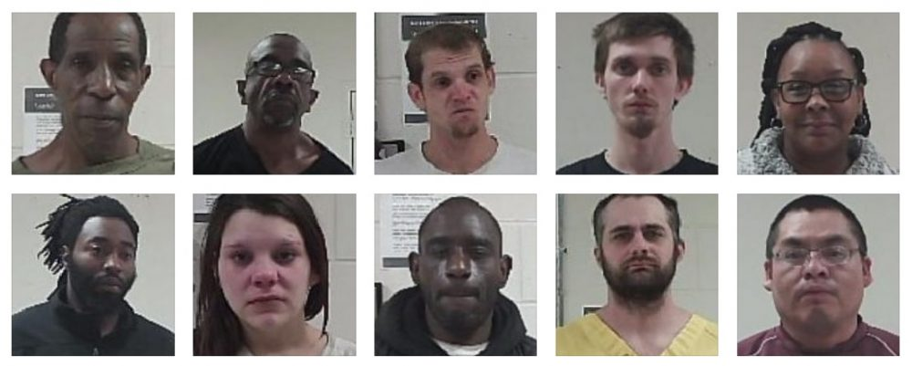DUI, possession and other recent arrests in Neshoba County