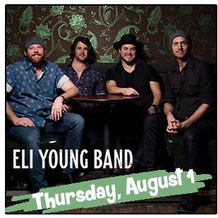 Eli Young Band Headlines Thursday's NCF Entertainment